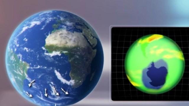 Foto: Se cierra agujero en capa de ozono que se detectó en marzo