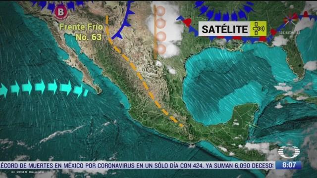 clima al aire preven lluvias con posibles tornados en coahuila nuevo leon y tamaulipas