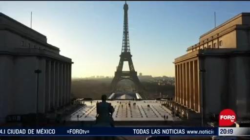 cambios del coronavirus en París Francia