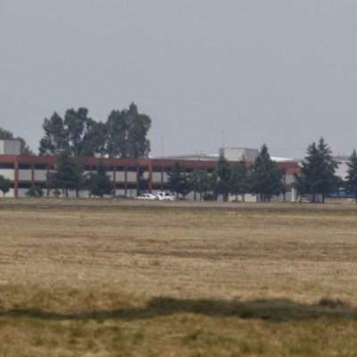 Construcción del aeropuerto de Santa Lucía avanza en 18.1%