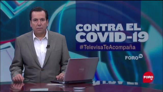 FOTO: contra el covid 19 televisateacompana primera emision del 26 de mayo de