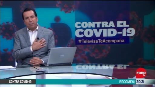 Foto: Contra El COVID Televisa Te Acompaña Recomendaciones Prevención Coronavirus Pandemia Cuarentena 20 Mayo 2020