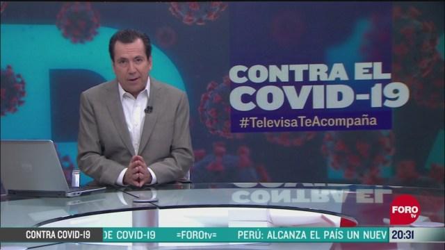 Contra El COVID Televisa Te Acompaña Recomendaciones Prevención Coronavirus Pandemia Cuarentena 26 Mayo 2020