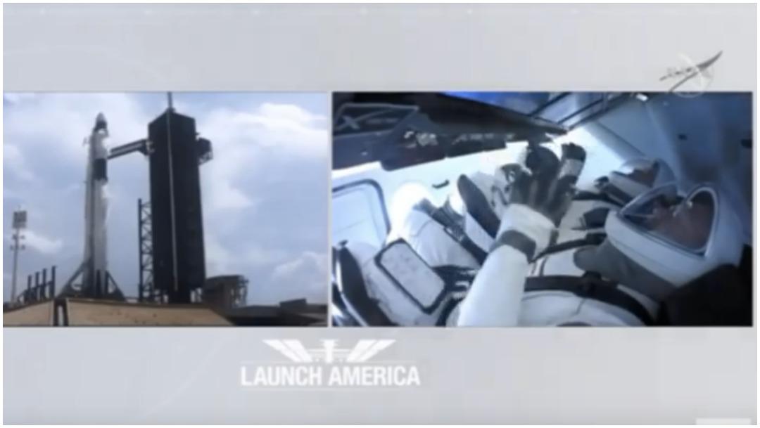 El SpaceX salió a órbita este sábado sin mayores contratiempos. (NASA)