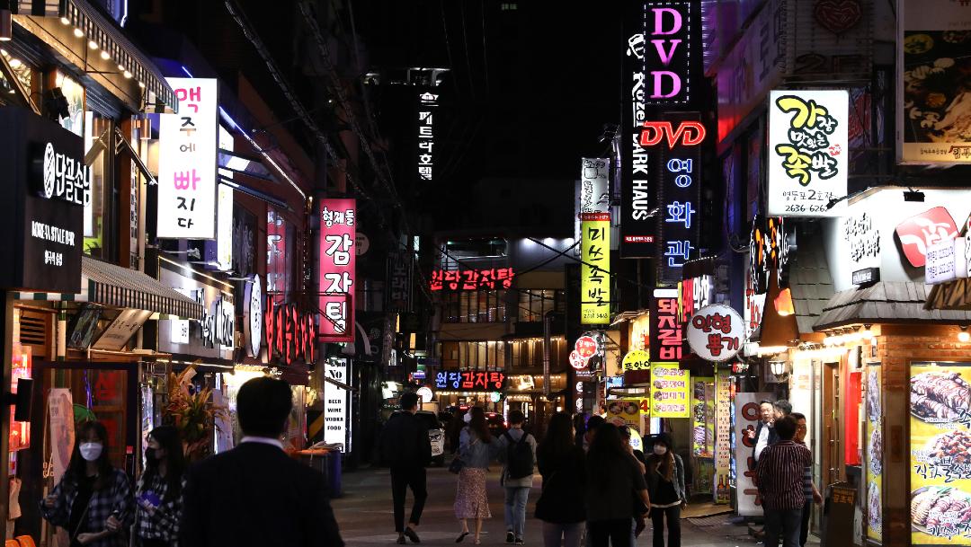 FOTO: Siguen en aumento contagios de coronavirus en bares de Corea del Sur, el 13 de mayo de 2020