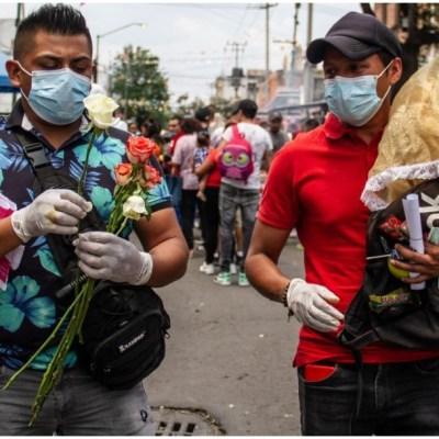 Suben a 2,061 los muertos y a 22,088 los contagiados por coronavirus en México