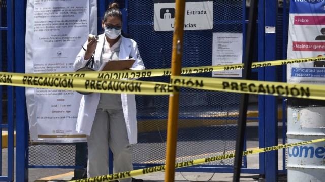 Foto: Cierran Hospital Las Américas en Guerrero, tras agresión en Ecatepec, 2 de mayo de 2020, (Cuartoscuro)