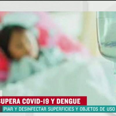 Detectan caso de coronavirus y dengue en una niña de Nayarit
