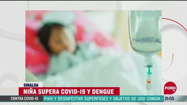 coronadengue caso coronavirus dengue en nina nayarit