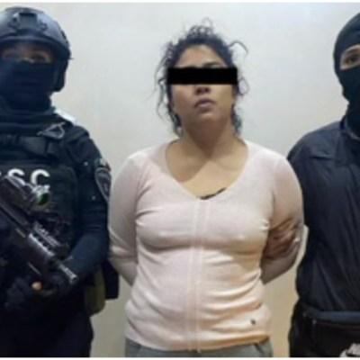 Detienen a 'La Princesa de Tláhuac' y a 'El Cindy', presuntos integrantes del Cártel de Tláhuac