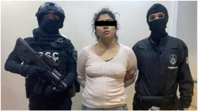 Foto: Autoridades detuvieron a La Princesa de Tláhuac en la Colonia del Mar, 17 de mayo de 2020 (Foro TV)