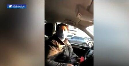 diputada de morena trata de evitar multa con charolazo