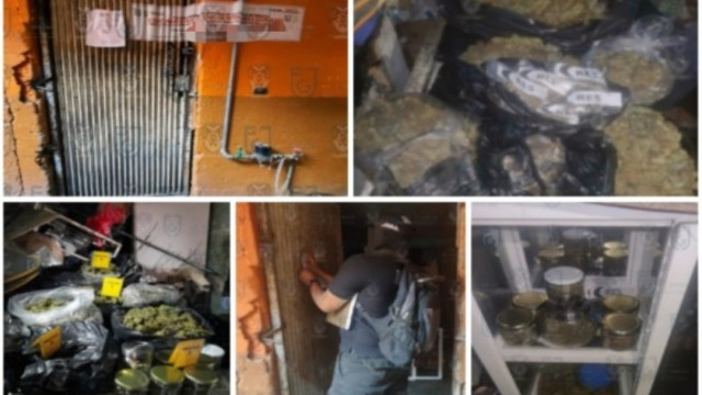 Policías de la CDMX cateron un inmueble en Tepito y aseguraron droga. @PDI_FGJCDMX