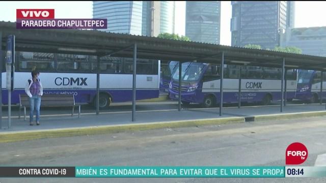 el paradero de chapultepec se considera como zona de alto riesgo de contagio