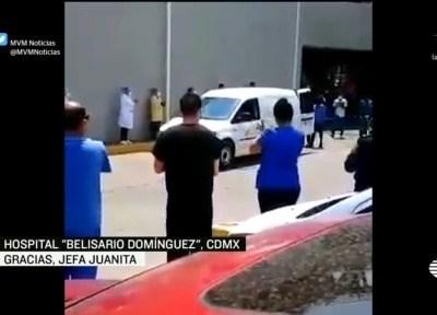 Despiden a 'Jefa Juanita', enfermera que murió por coronavirus en la CDMX