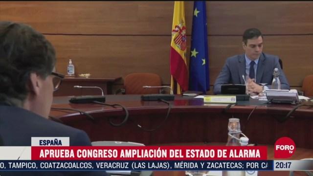 espana amplia estado de alarma hasta el 7 de junio