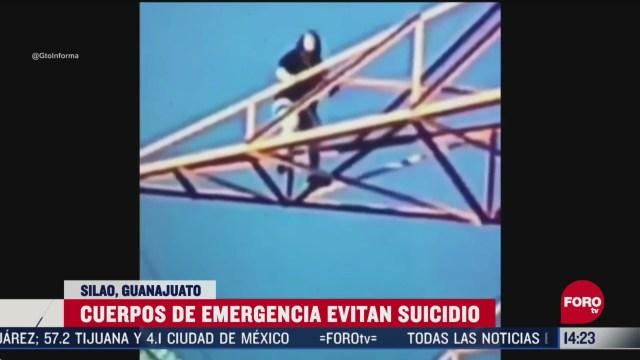 FOTO: evitan suicidio de mujer en silao guanajuato