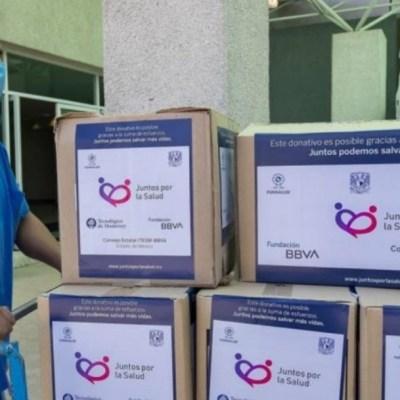 Fundación Mexicana para la Salud entrega insumos médicos a hospitales para enfrentar coronavirus