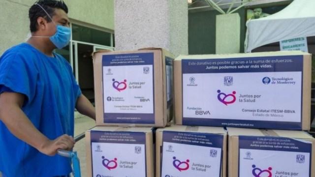 Fundación Mexicana para la Salud entrega insumos médicos a hospitales