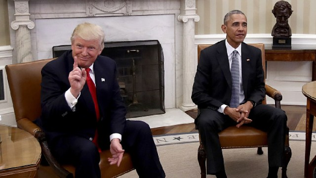 Foto: Trump califica de incompetente a Obama tras crítica del expresidente, 16 de mayo de 2020, (Getty Images, archivo)
