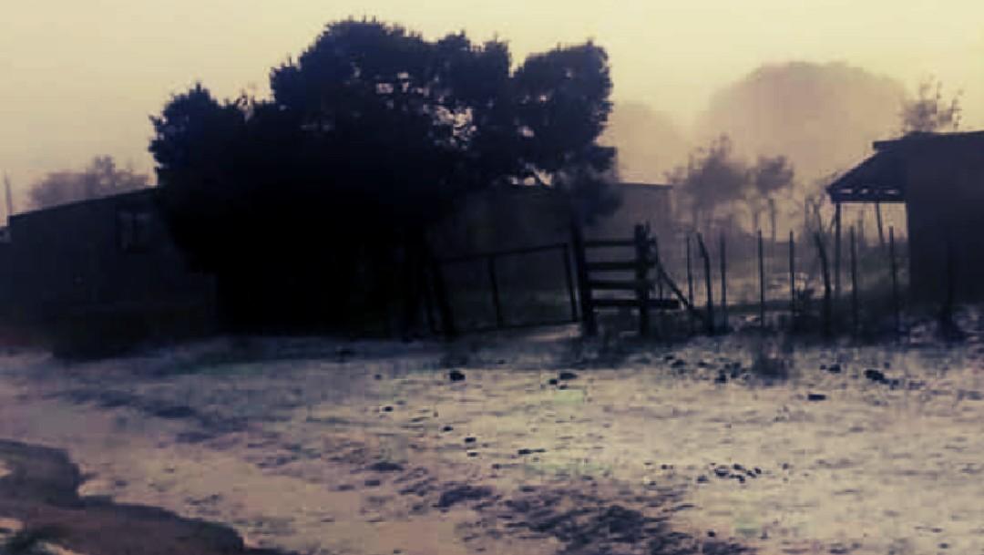 Fotos y video: Granizo deja paisajes de blanco Galeana y Aramberri, Nuevo León