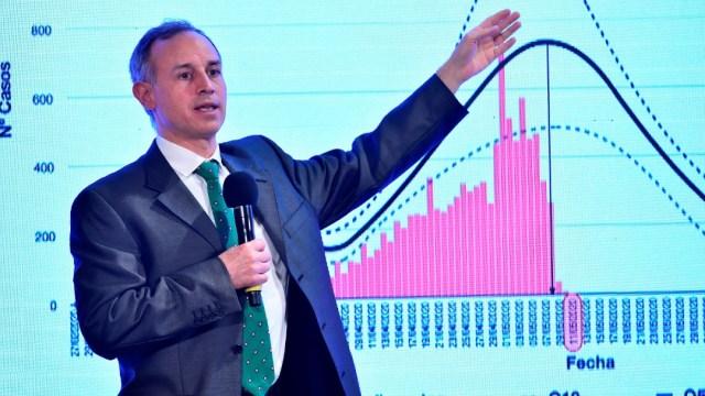 Hugo López-Gatell, subsecretario de Prevención y Promoción de la Salud. Efe