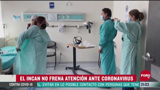 FOROtv Ingresa Zona Roja instituto nacional de cancerologia atiende a pacientes con covid