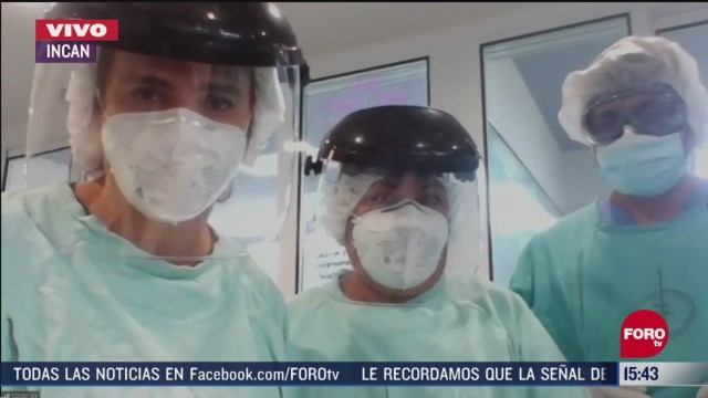 FOTO: instituto nacional de cancerologia no frena atencion ante coronavirus