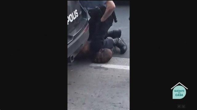 Investigan muerte de afroamericano por policías de EEUU