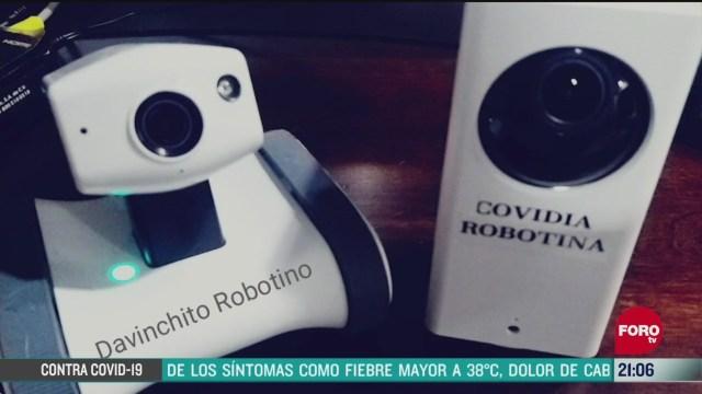 Foto: Issste Minirobots Robots Atención Pacientes Coronavirus COVID 19 14 Mayo 2020