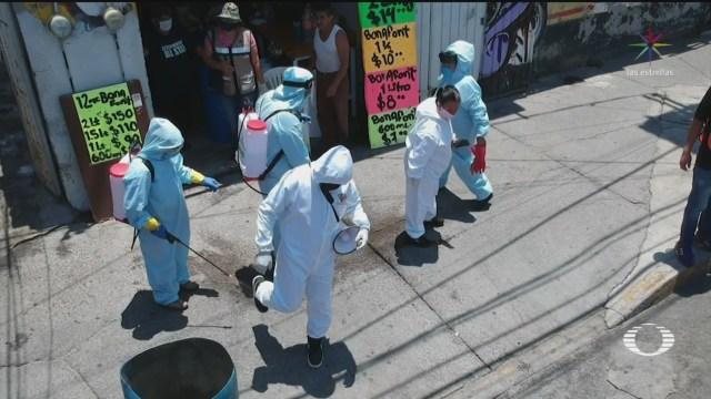 Foto: Iztapalapa Refuerza Sanitización Zonas Riesgos 7 Mayo 2020