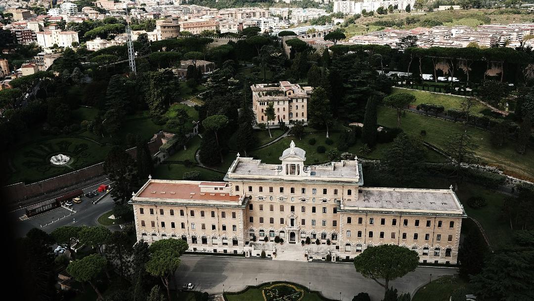 FOTO:El papa abre los jardines vaticanos para un campamento de verano para niños, el 30 de mayo de 2020