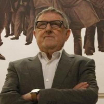 Muere el artista español Juan Genovés, autor de 'El Abrazo'. (Foto: @iunida)