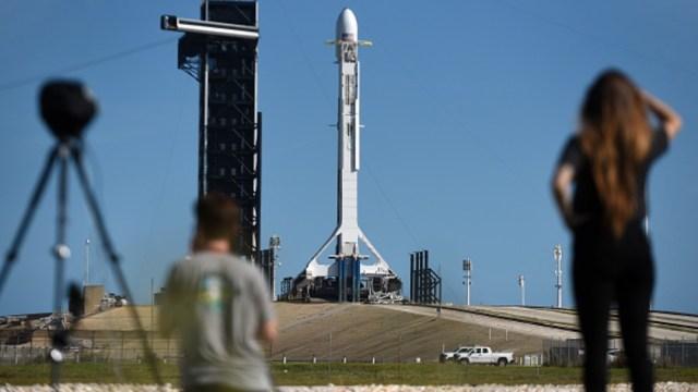 Lanzamiento de un cohete de Spacex en Cabo Cañaveral, en Florida, EEUU. Getty Images/Archivo