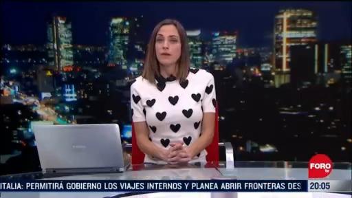 Foto: Las Noticias Ana Francisca Vega Programa Completo Forotv 15 Mayo 2020