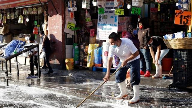 Puebla busca reforzar medidas contra COVID-19 en mercados