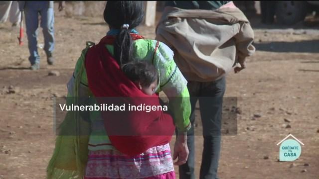 FOTO: 9 de mayo 2020, los pueblos originarios son mas vulnerables ante las pandemias