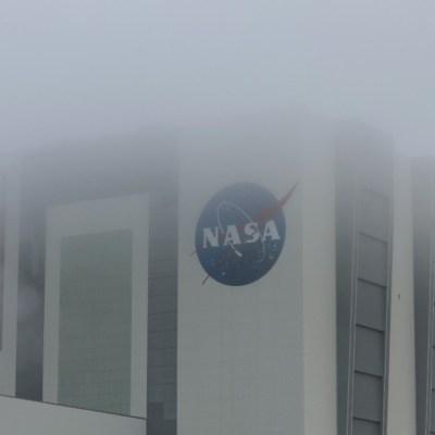 Mal clima en las instalaciones de la NASA en Cabo Cañaveral, Florida. Getty Images