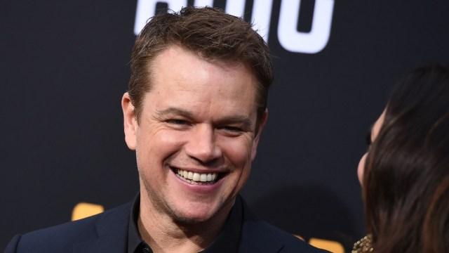 Foto: Matt Damon revela que una de sus hijas tuvo coronavirus