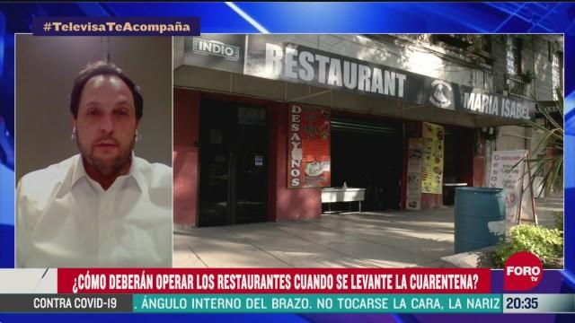 medidas sanitarias en restaurantes tras cuarentena