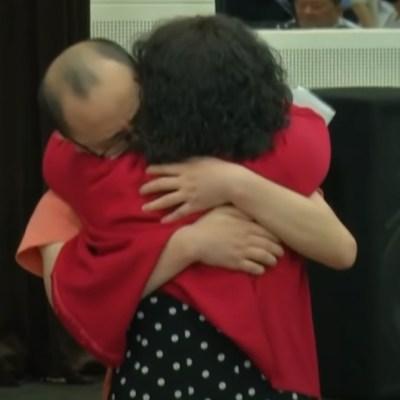 Video: 'Niño' secuestrado hace 32 años vuelve a reunirse con su familia