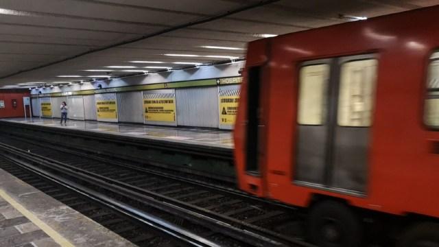 FOTO: Reanudan servicio en estaciones Ciudad Deportiva y Velódromo del Metro, el 16 de mayo de 2020