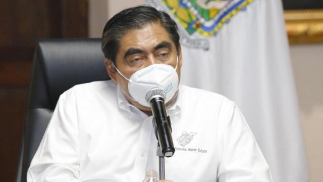 Miguel Barbosa, gobernador de Puebla. (Twitter: @MBarbosaMX)