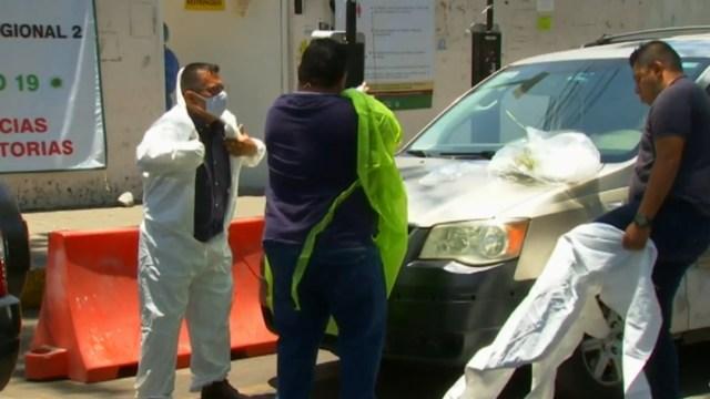 Foto: Familias en CDMX viven momentos de dolor en hospitales por muertes de coronavirus