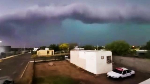 Fuerte tormenta con granizo azota Piedras Negras y deja daños severos