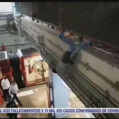 Policías de la CDMX evitaron que un hombre se suicidara