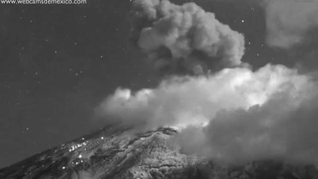 Popocatépetl Exposión
