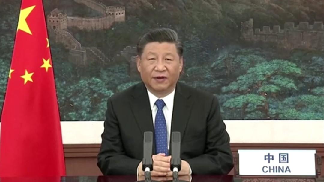 Foto: Presidente chino promete compartir vacuna contra coronavirus