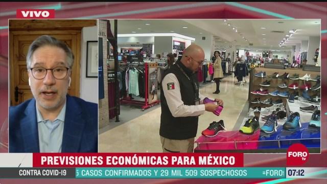 previsiones economicas para mexico