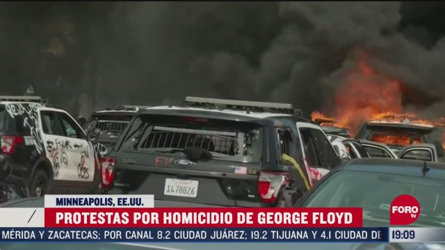 FOTO: 30 de mayo 2020, protestas por muerte de george loyd se intensifican